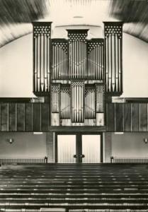 orgel oranje kerk