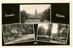 volkspark-parkgebouw 1962