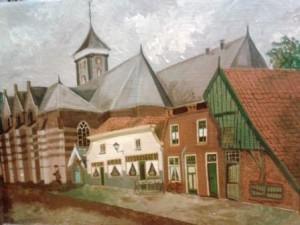 Schilderij Kerkstraat