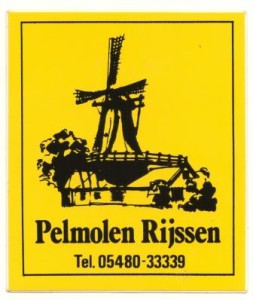 sticker pelmolen