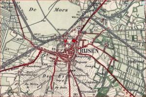 top kaart 1925